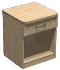 Тумба прикроватная с выдвижным ящиком