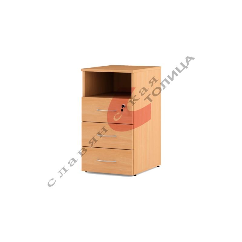 Офисная тумба приставная С-034.004/1 (3 ящика)
