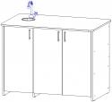 Стол демонстрационный для кабинета химии