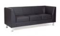 Офисный диван Дерби трёхместный