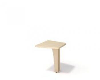 Стол приставной. Б-366.2 Цвет: дуб молочный б/у