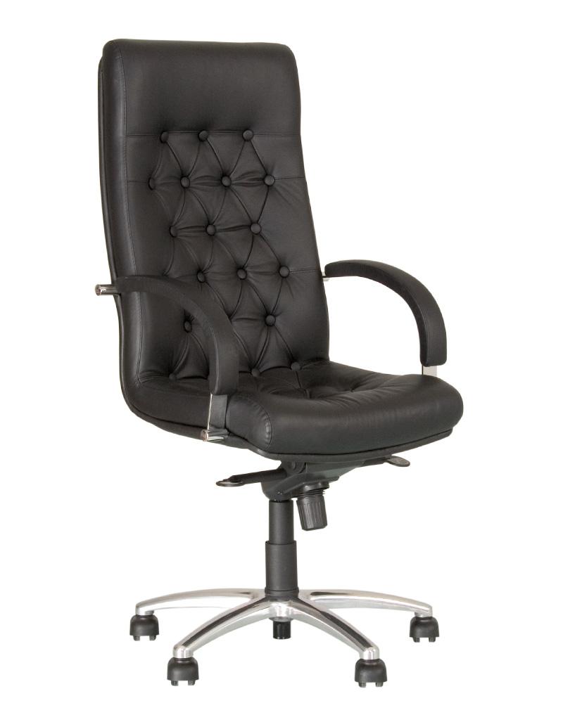 Компьютерное кресло для руководителя FIDEL lux steel MPD AL68 с механизмом «Мультиблок»