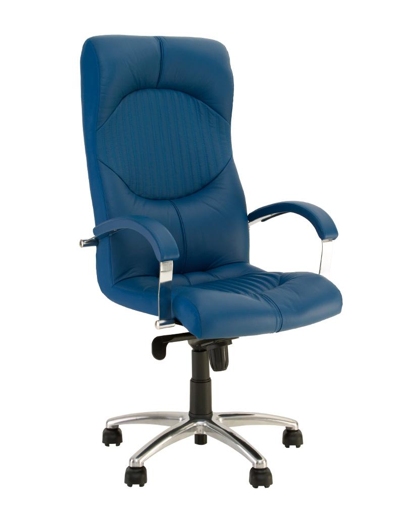Компьютерное кресло для руководителя GERMES steel MPD AL68 с механизмом «Мультиблок»