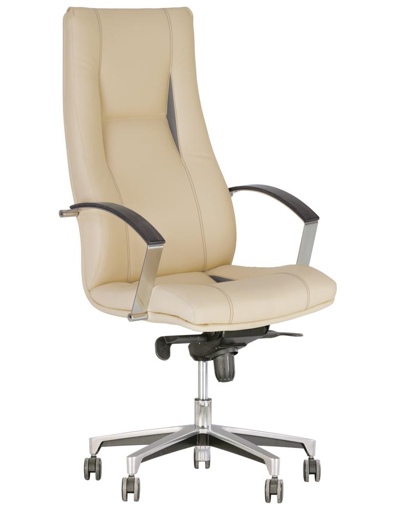 Компьютерное кресло для руководителя KING steel MPD AL35 c механизмом «Мультиблок»