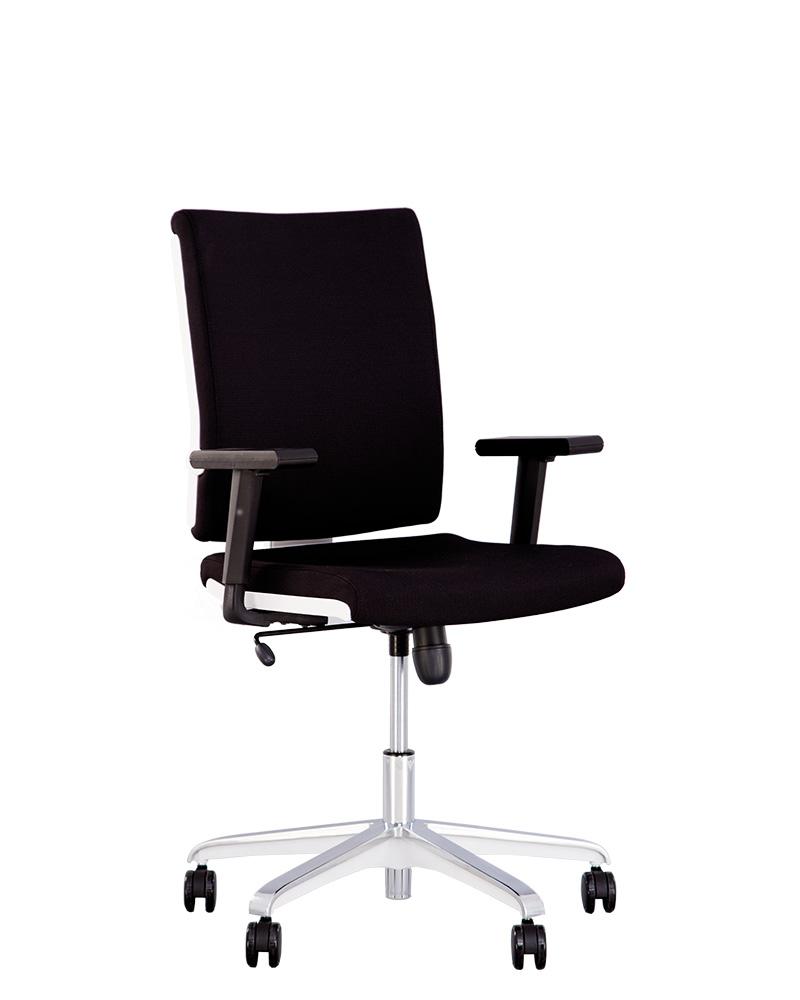 Кресло MADAME R white Tilt AL35 с механизмом качания
