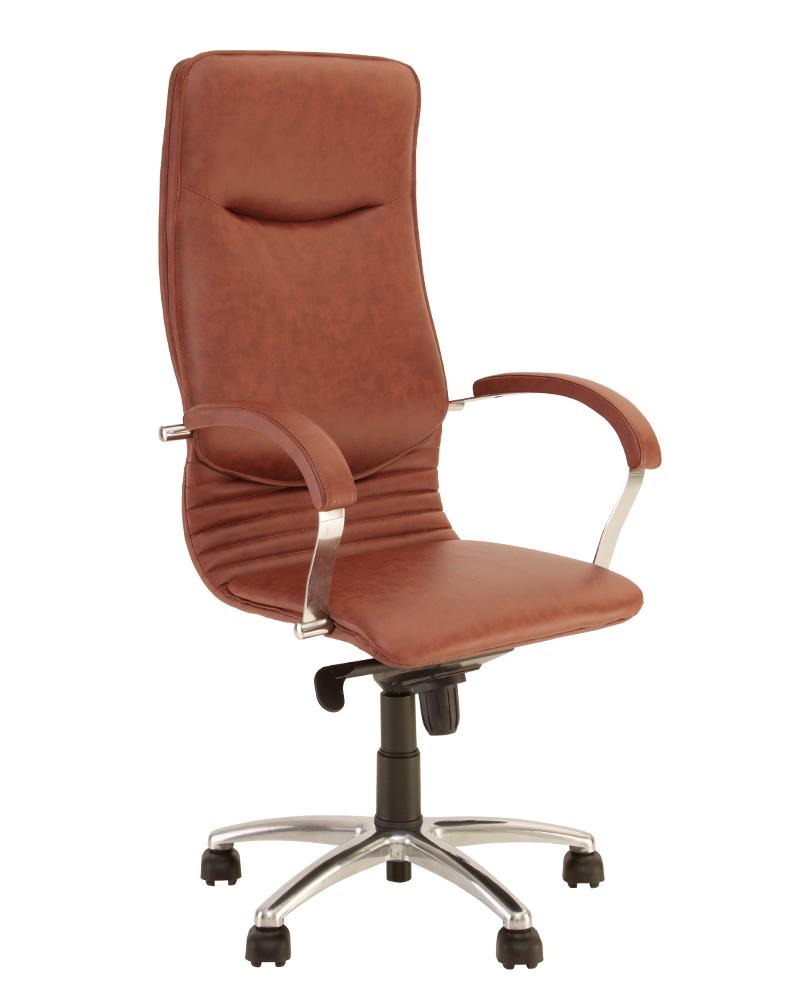 Компьютерное кресло для руководителя NOVA steel MPD AL68 с механизмом «Мультиблок»