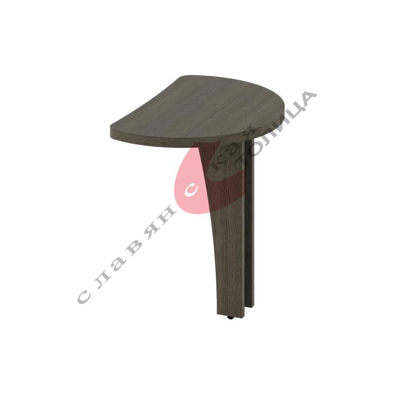 Стол приставной Б-353.2 ДСП опора