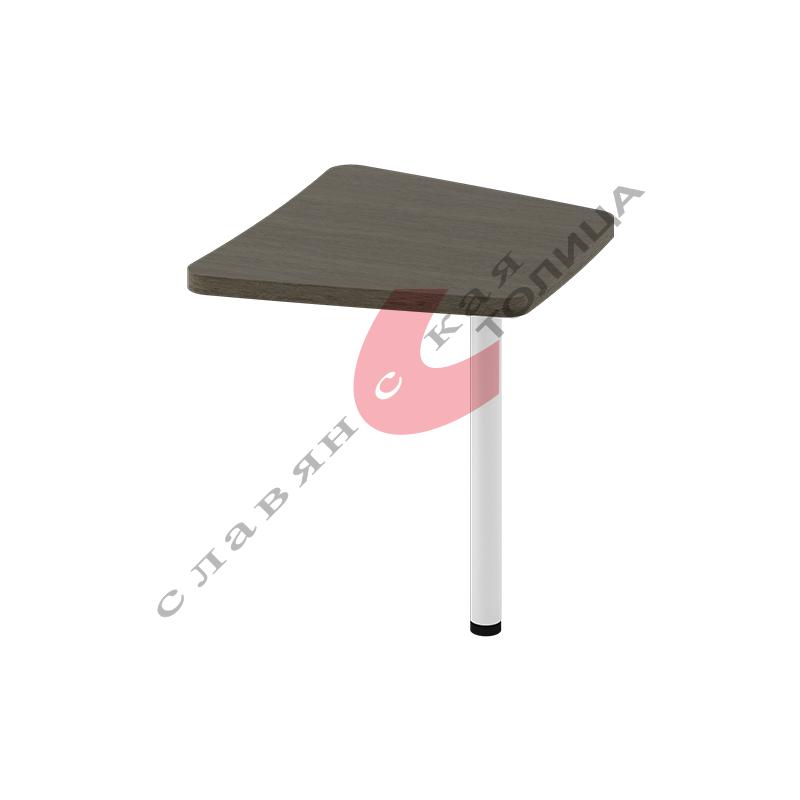 Стол приставной боковой Б-366.1 мет. опора