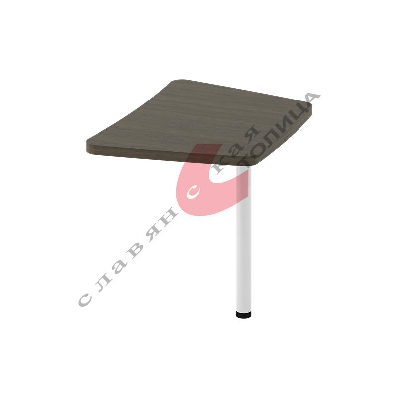 Стол приставной Б-370.1 мет. опора