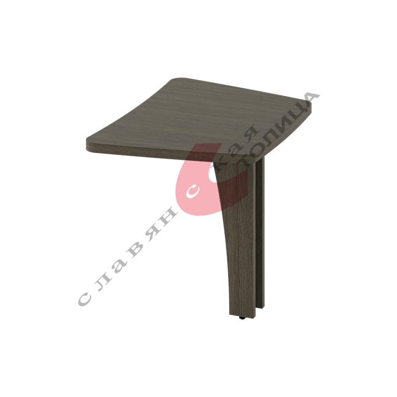 Стол приставной боковой Б-370.2 ДСП опора