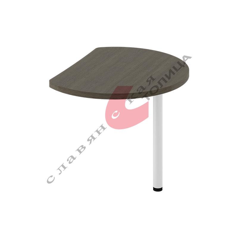 Стол приставной Б-378.1 мет. опора