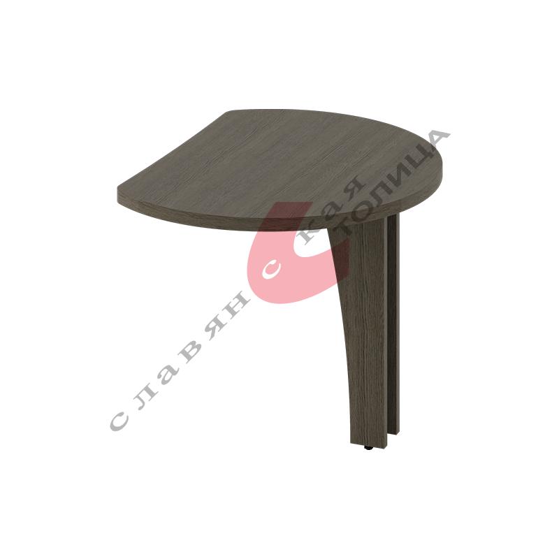 Стол приставной Б-378.2 ДСП опора