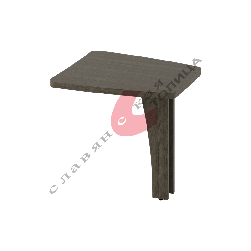 Стол приставной Б-380.2 ДСП опора