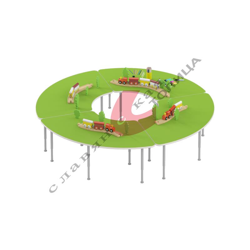 Стол игровой «Сектор» (0-3 гр.р) ДУ-СИ8 (Комплект)