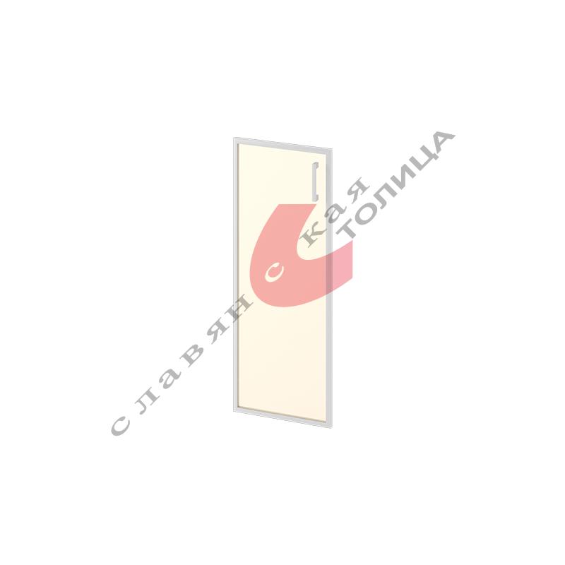 Дверь стеклянная в алюминиевой рамке М-С-8.1094R зерк.