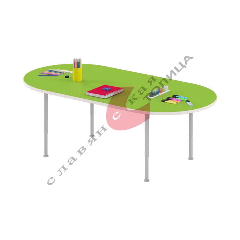 Стол игровой «Овальный» (0-3 гр.р) ДУ-СИ4
