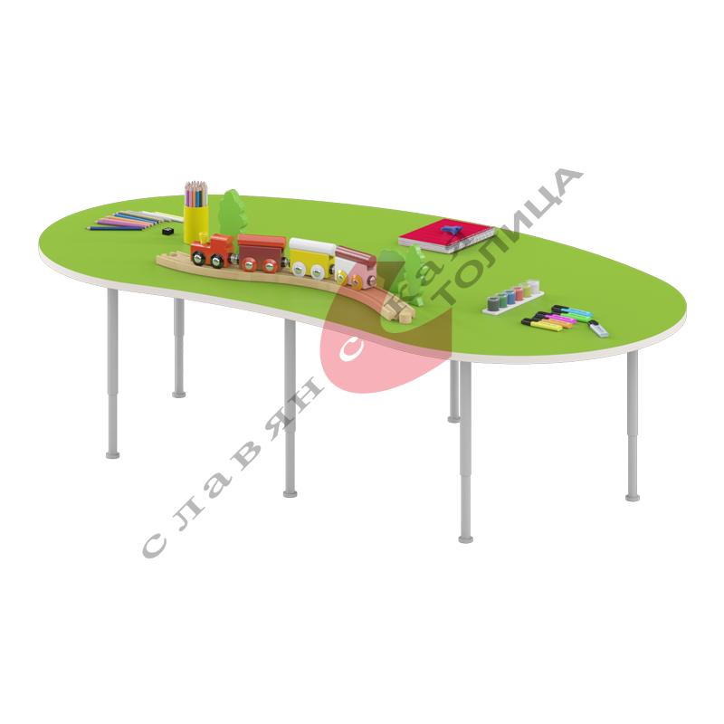 Стол игровой «Долька» (0-3 гр.р) ДУ-СИ5