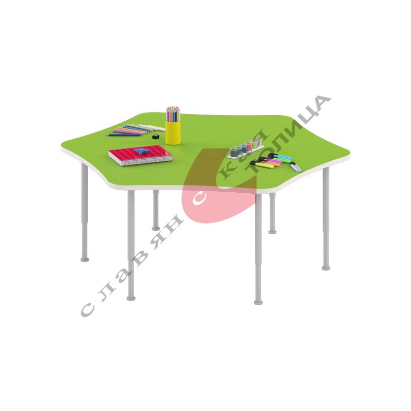 Стол игровой «Ромашка» (0-3 гр.р) ДУ-СИ6