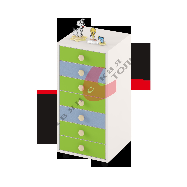 Шкаф (7 ящиков) ДУ-СМ8-7