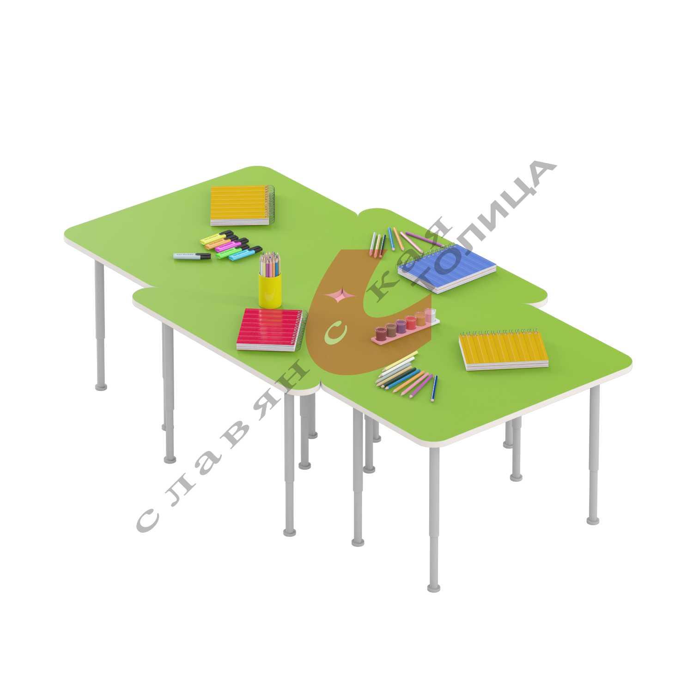 Стол игровой (0-3 гр.р) ДУ-СИ25-1 (Треугольник)
