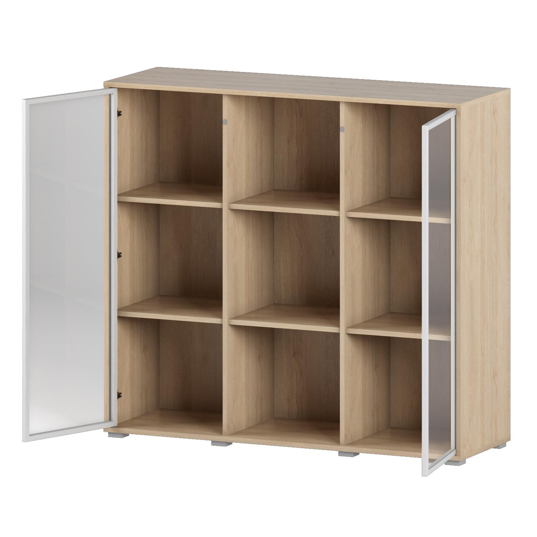 Шкаф с витриной Os24